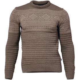 Ivanhoe of Sweden Mattis Suéter de Cuello Redondo Hombre, marrón